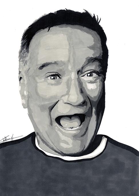 Robin Williams by Lwize